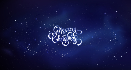 Christmas background greeting card. Vector color template with space illustration. Xmas holyday pattern ready for print