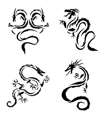 Dragon Vector version is also available Stock Vector - 12732080