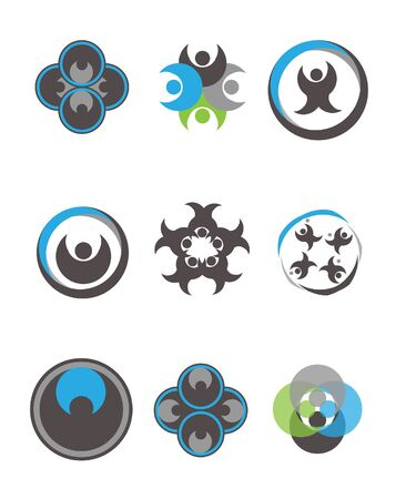 team working together: Unity icon