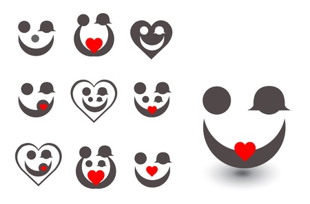 Stock Photo  family love icon Vector