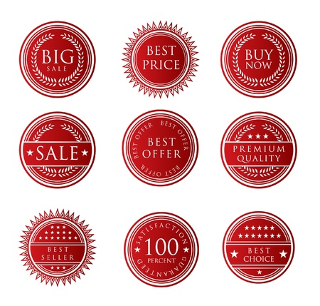 Sale Label Stock Vector - 13646115