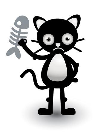 Cat Sad Stock Vector - 13688760