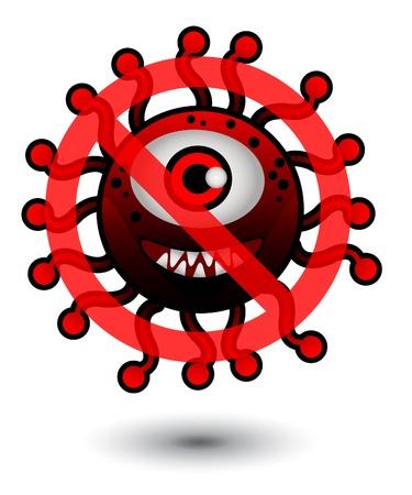 aids virus: Stop Bacteria