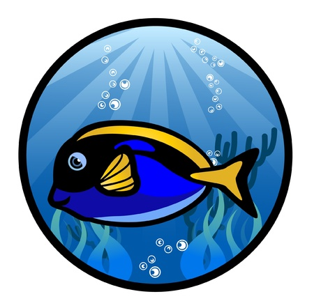 The Marine Fish Vector