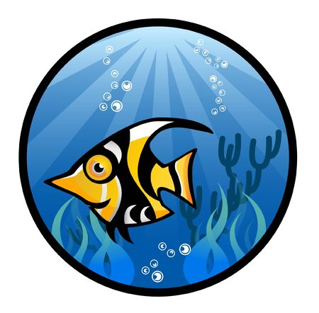 Tropical Fish Stock Vector - 13689226