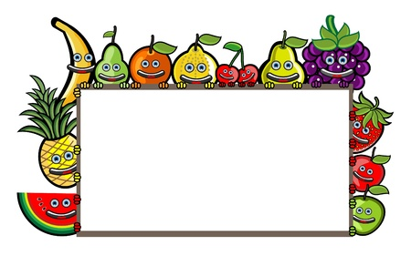 Fruit Banner Vector