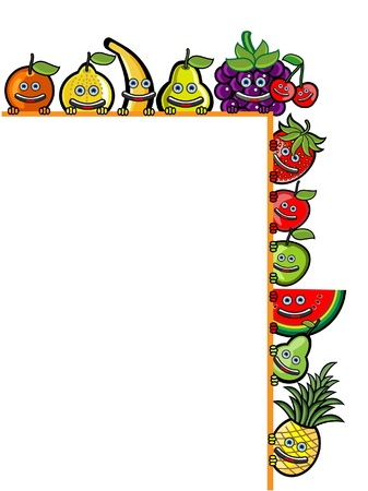 Fruit Banner Stock Vector - 13690084