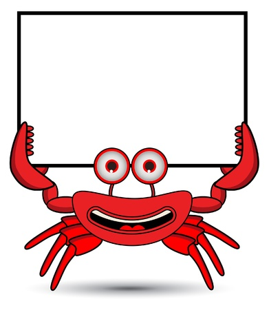 marine crustaceans: Crab Banner