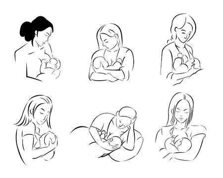 amamantando: La madre que amamanta
