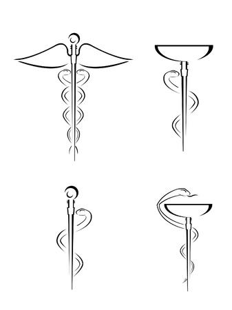 medical symbol: M�dico del s�mbolo