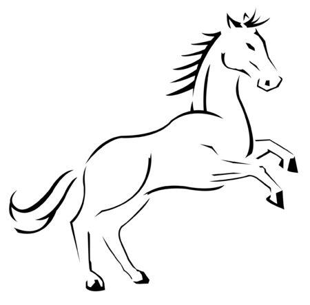 Horse Stock Vector - 14291270