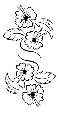 Flower Tattoo floral Stock Vector - 14291315