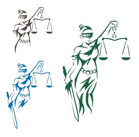 dama de la justicia: Se�ora Justicia