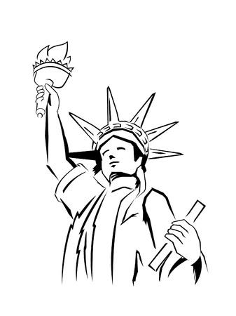 Liberty Stock Vector - 14291306