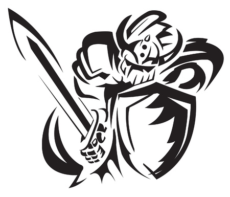 knight rider Illustration