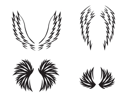 Tribal Wing Stock Vector - 14283870