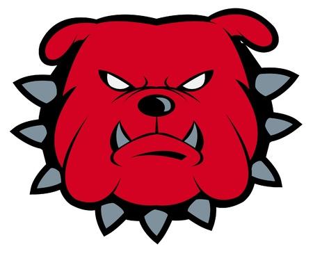 Bulldog Mascot Stock Vector - 14291276