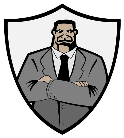 Bodyguard Security Vector