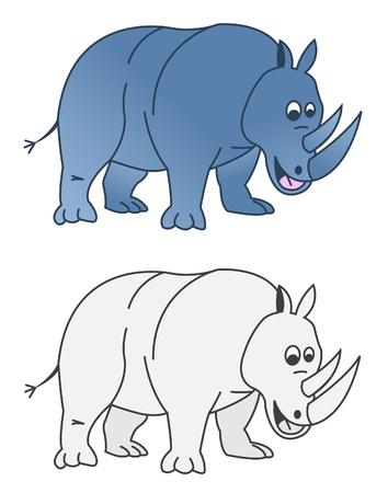 rhino Stock Vector - 14709634