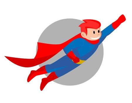 hero-Fly man Illustration