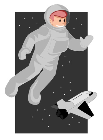 Astronaut Stock Vector - 14709694