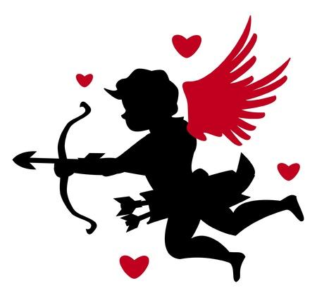 valentine s card: cupids