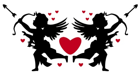 cupids Stock Vector - 14709705