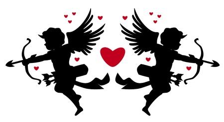 valentine cherub: cupids