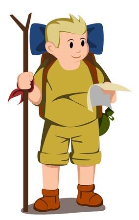 adventurer kids Vector