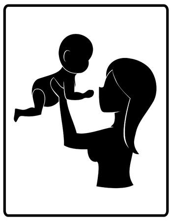 moeder met baby: Moeder s Care