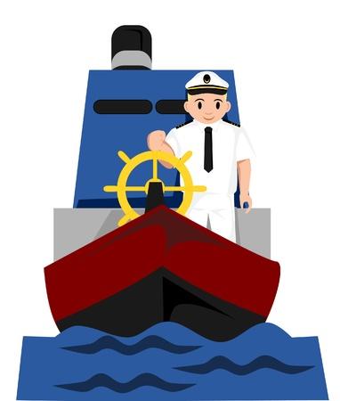 captain ship: captain