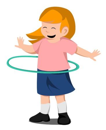 hula-hoop Vector