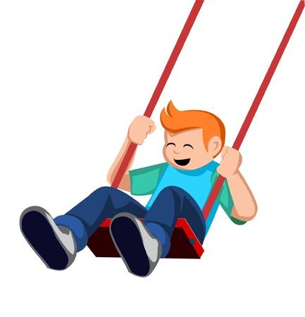 swings: kid swing