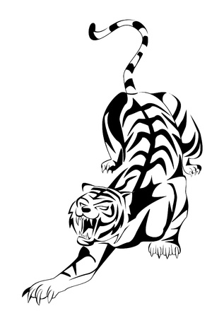tigres: tigre Illustration