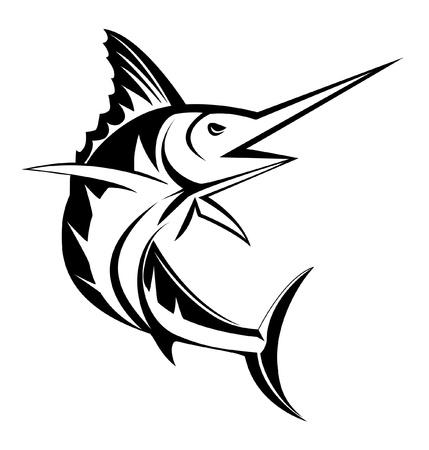 sailfish: марлина рыбы Иллюстрация