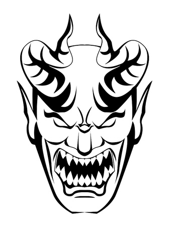 hades: devil head Illustration