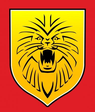lion roar: lion symbol