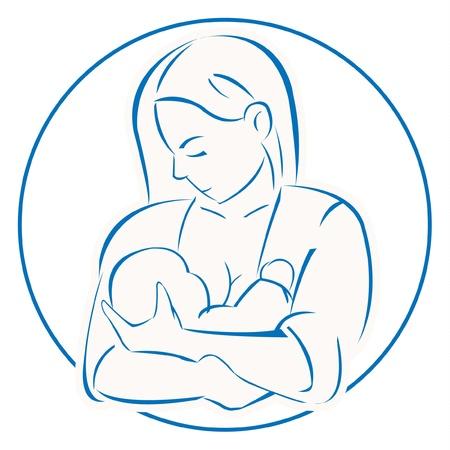 nurturing: mother baby