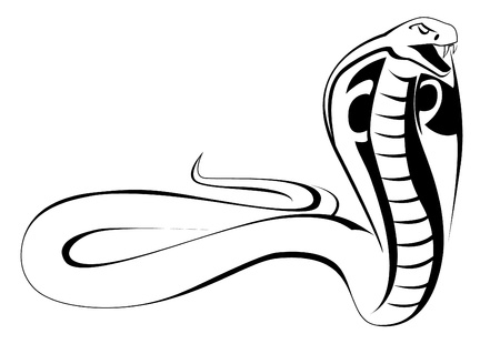 serpiente cobra: cobra
