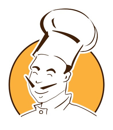 french bakery: chef symbol