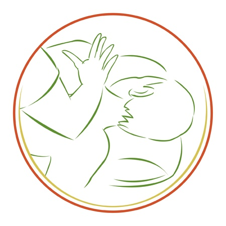 massage symbol: spa