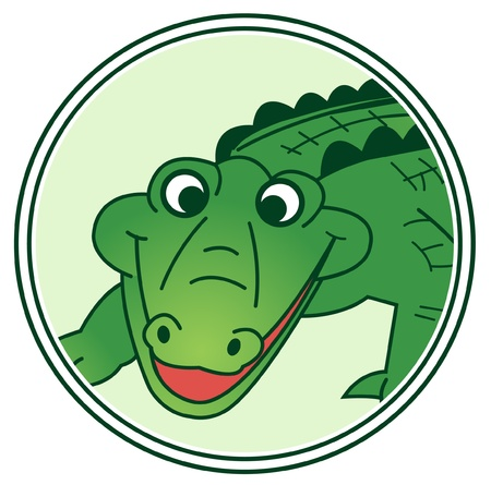 crocodile skin: crocodile Illustration