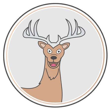 deer Stock Vector - 15468784