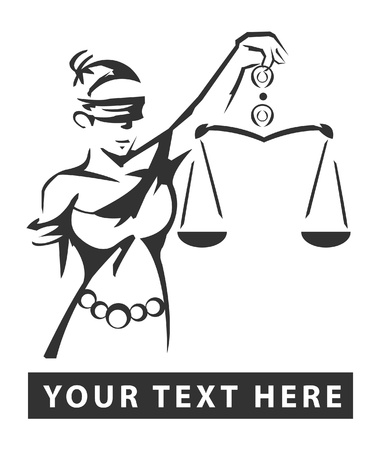 lady justice Stock Vector - 15614051