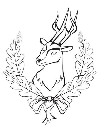 antelope: deer symbol