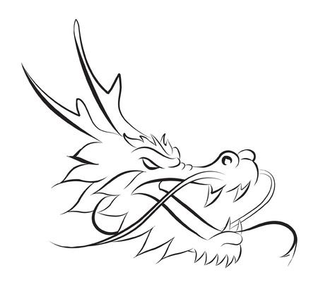 dragon head Stock Vector - 15793790