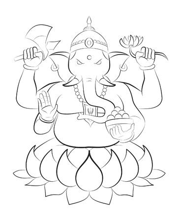 ganesha: ganesha Illustration