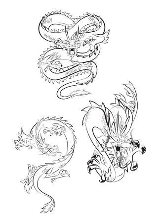 japanese ethnicity: dragon claw