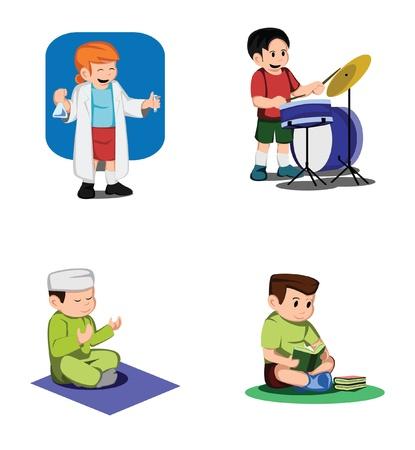 muslim prayer: Kid Activity Collection