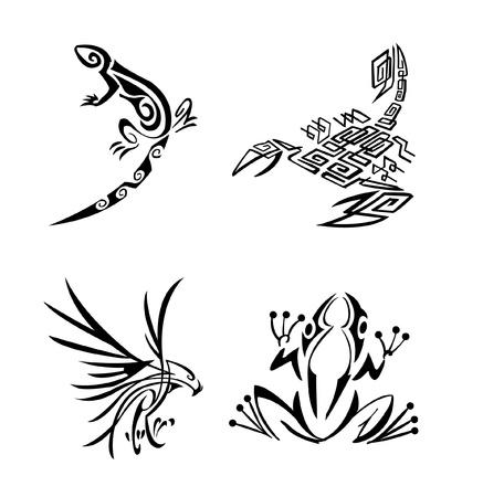 skorpion: Tribal Tier Set Sammlung